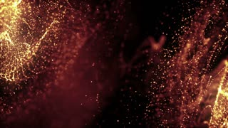 Particles Dust Abstract Light Motion Titles Cinematic Background Loop 41