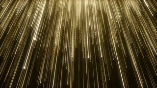 Particles Gold Glitter Bokeh Award Dust Abstract Background Loop 92