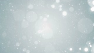 Particles white business clean bright glitter bokeh dust abstract background loop