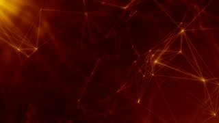 Plexus abstract network business technology science background loop