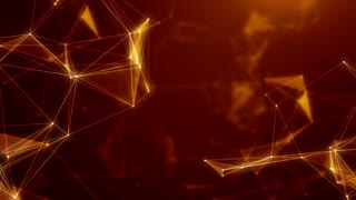 Plexus abstract network titles technology science background loop