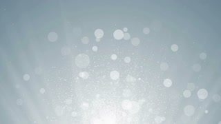 White particles business clean bright glitter bokeh dust abstract background loop