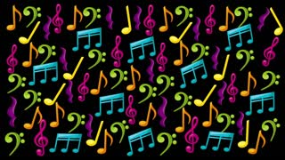 Music Notes, Video Animation