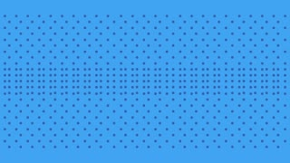 pop art speech bubble with explotion dotted background blue animation hd