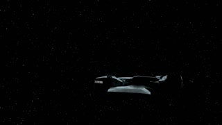 Alien Spaceship Heading Towards Earth