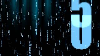 Dark Stylish Matrix Animated Background