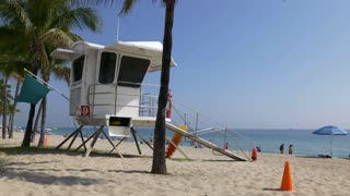 Lifeguard Tower in Fort Lauderdale Beach