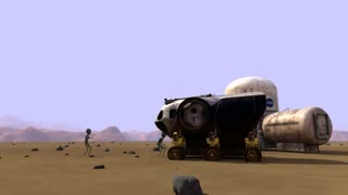 Martians Discover U.S. Outpost on Mars