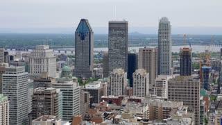 Montreal, Canada City Buildings Vista