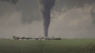 Super Violent Tornado Strikes Farm