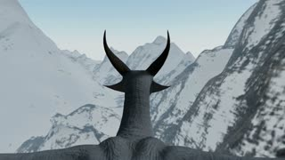 Riding a Dragon Over Snowy Mountains POV