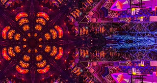 VJ Loops 3 - PepN Stock Footage - 4K Hypnotic kaleidoscope stage visual loop for concert, night club, music video, events, show, fashion, holiday, exhibition, LED screens and projection mapping.