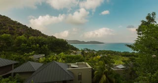 Sunny Say at the Tropical Island