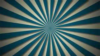A simple rotating sun ray animation.