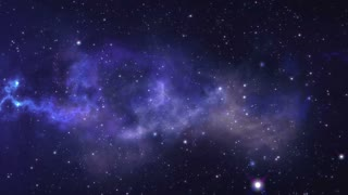 zodiac sign Cancer forming from the stars with space background