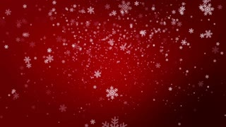 Christmas Snow Background Loop