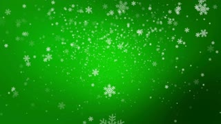 Christmas Snow Loop Background