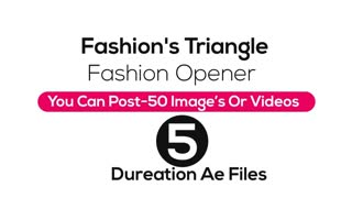 Fashion's Triangle - Fashion Opener