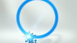 Stylize Grain Particle Logo
