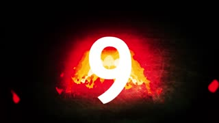 Fire Countdown  Animation