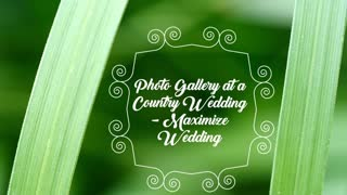 Photo Gallery At A Country Wedding Maximize Wedding