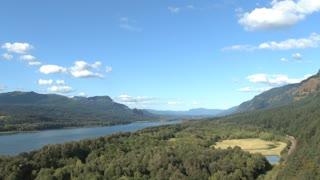 Beautiful Columbia River Gorge Oregon And Washington