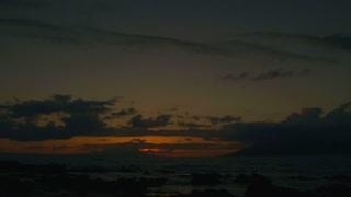 Beautiful Sunny Ocean Sunrise Time Lapse