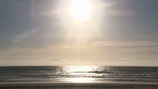 Bright And Sunny Beach Day