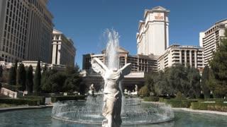 Caesars Palace Las Vegas Establishing Shot