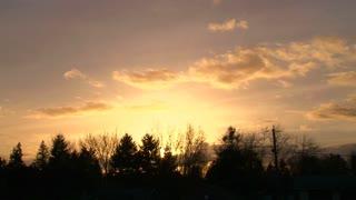 Colorful Morning Sunrise