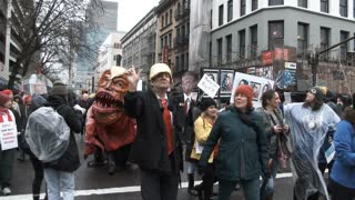 Donald Trump The Evil Slug Mutant