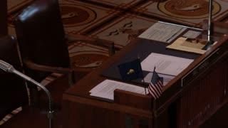 Empty USA Senate Meeting Room
