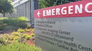 Exterior Emergency Hospital Sign