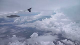 Flying By Huge Thunderhead Cloud