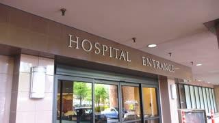 Hospital Entrance No People