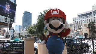 Mario On Las Vegas Boulevard