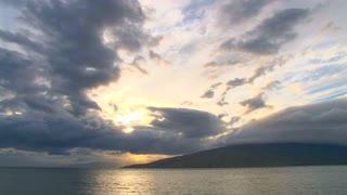Maui Hawaii Sunrise Beach Time Lapse