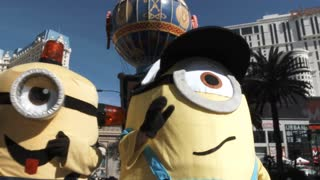 Minions On Las Vegas Boulevard