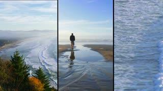 Ocean Man Voyage Split Screen