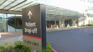 Patient Drop Off Hospital Entrance