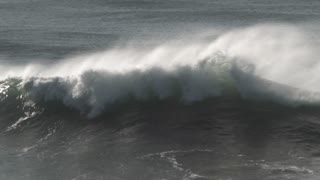 Powerful Wave Crashing