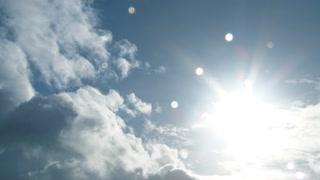 Rain Cloud Revealing Sunny Clear Sky Time Lapse