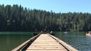Summer Camp Lake Kids