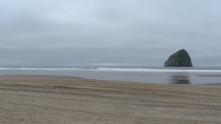 Surfers Driving The Pacific Northwest Coast