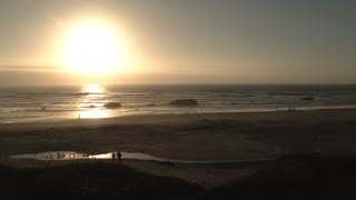 The Oregon Coast Sunset Scenic