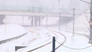 Winter Storm Snowy Roads