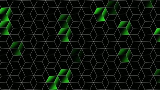 Motion cubes abstract background