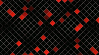 Motion Squares Abstract Background