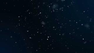 Falling snowflakes matte slow