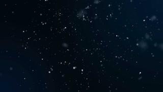 Falling snowflakes matte